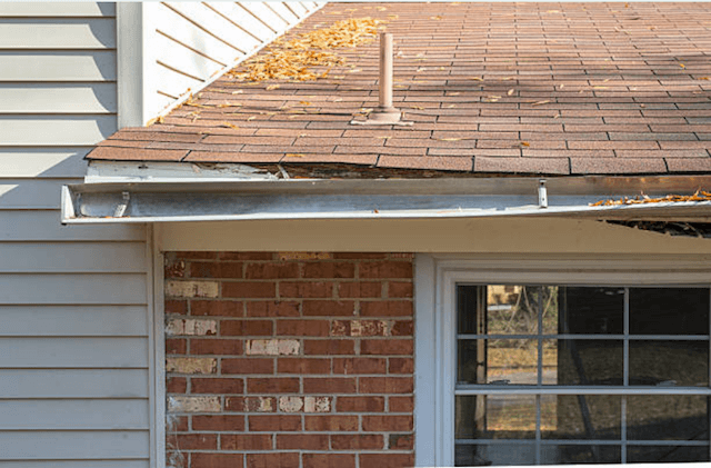 gutter repair in Menasha